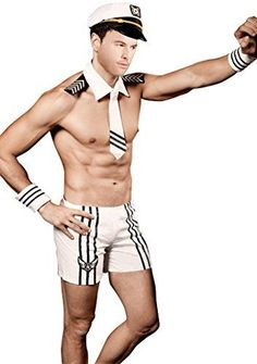 Mens Sexy Sailor Costume Outfit lingerie -- See this great product. - lingerie, sets, for curvy women, encaje, valentines day, sensual lingerie *ad