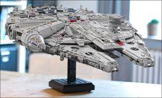 Millenium Star Wars 7 UCS Falcon - LEGO Star Wars MOC of 7500 pieces