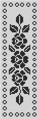 Home Decor Crochet Patterns Part 152 - Beautiful Crochet Patterns and Knitting Patterns Cross Stitch Bookmarks, Cross Stitch Rose, Cross Stitch Borders, Cross Stitch Flowers, Cross Stitch Designs, Cross Stitch Patterns, Knitting Patterns, Crochet Patterns, Thread Crochet