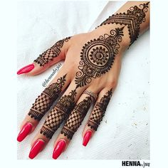 Henna by Jas. Non bridal henna. Offering FREE consultations for all brides getting married in Contact via e-mail text or phone for ALL 2018 Available Henna Dates! For all enquiries or E-mail: . Pretty Henna Designs, Wedding Henna Designs, Mehndi Designs For Fingers, Mehndi Design Images, Beautiful Mehndi Design, Best Mehndi Designs, Henna Tattoo Designs, Indian Henna Designs, Mehandi Designs
