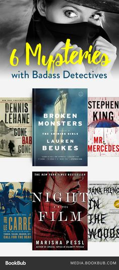 Detective mystery books worth a read, including In The Woods by Tana French.