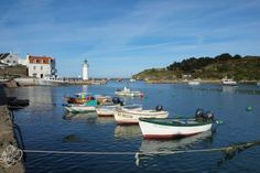 Sauzon, Belle-Ile-en-Mer.  Morbihan. Brittany