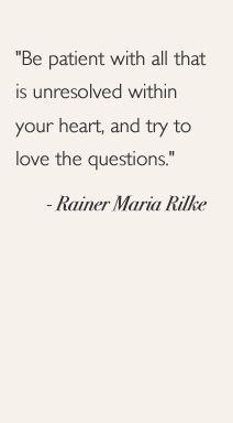 -Rainer Maria Rilke