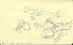 End of Quansett 5 x 8 inches, Sketch Pad, Florida Keys 08
