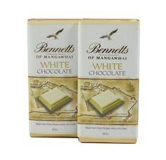 Bennetts of Mangawhai White chocolate bar. How To Make Chocolate, White Chocolate, Bar