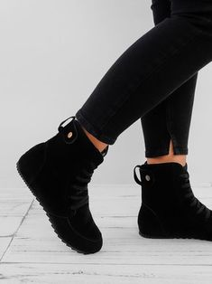 51edd21e9c48 Round Toe Women Ankle Lace-Up Boots