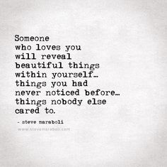 Someone who loves you...
