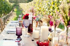 colorful table for a celebration!