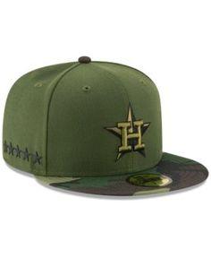 New Era Houston Astros Memorial Day 59FIFTY Cap - Green 7 1 2 Gorras  Snapback a931e848e15