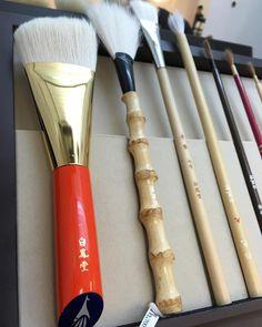 #Hakuhodo Japanese Bath, Japanese Makeup, Makeup Brushes, Makeup Hashtags, Brushes,