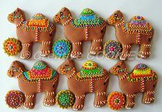 Camel Caravan by Creative Cookies Belgrade