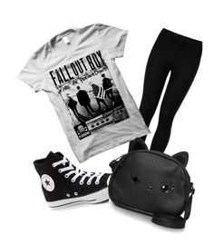 """""""YL"""" by andyytorress on Polyvore featuring Wolford, Converse and Loungefly"""