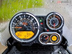 Royal Enfield Himalayan instrument console