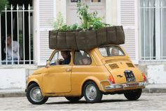 バッグの素材で出来た植物鉢   roomie(ルーミー)