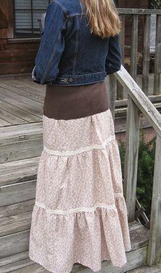 Graceful Little Honey Bee: Praire Skirt Tutorial