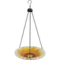 Sunflower Bowls | Wayfair Sunflower Garden, Stained Glass, Chandelier, Ceiling Lights, Bird, Ds, Bowls, Trees, Classic