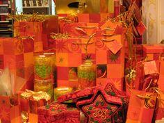 An Orange Christmas theme I saw in Switzerland-I love it!