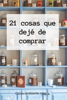 21 cosas que dejé de comprar This is a list of 21 things that I stopped buying because I found better alternatives. Hanging Herbs, Always Learning, Grow Your Own Food, Growing Herbs, Canning Jars, Preserving Food, Ways To Save Money, Country Life, Country Living