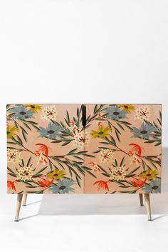 Shop for Deny Designs Holli Zollinger Jungle Bungalow Credenza. Get free delivery On EVERYTHING* Overstock - Your Online Furniture Shop! Get in rewards with Club O! Loft Furniture, Furniture Update, Art Deco Furniture, Hand Painted Furniture, Paint Furniture, Upcycled Furniture, Furniture Deals, Furniture Makeover, Furniture Design