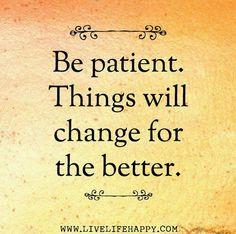 Ser paciente