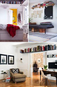 Shelves Way Up High