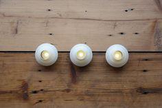 Shade & Base Lantern White by ForgeFive on Etsy