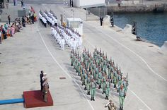 Entrega de la Bandera de Combate en la Ciudad Autónoma de Melilla, al Buque de Acción Marítima Relámpago @Armada_esp