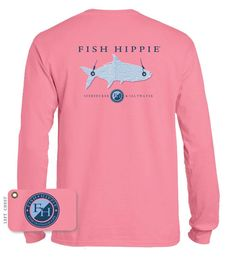 acc11128c Fish Hippie long sleeve Fishing Apparel, Fishing Shirts, Fishing Outfits,  Nightmare Before Christmas
