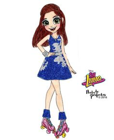 In love with the outfit of the last competition of Luna Valente So close to the end the first season! And so close to the launch the second musical album of this amazing Disney Channel serie! Disney Drawings, Cartoon Drawings, Cool Drawings, Kawaii Disney, Disney Art, Luna Anime, Disney Illustration, Son Luna, Kawaii Girl