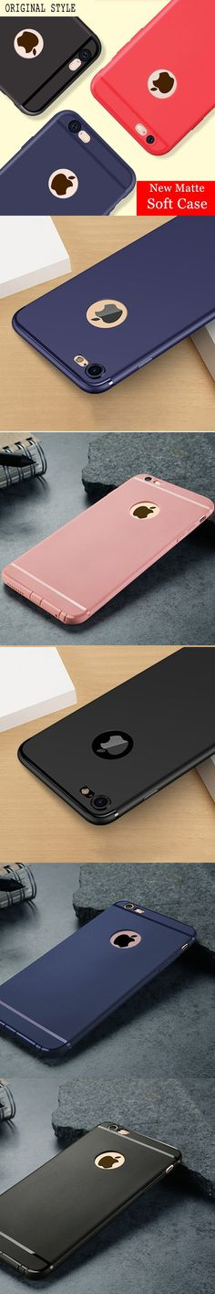 High Quality Candy Color Silicon Rubber Phone Case For fundas iPhone 5s 5 6s 6 7 8 Plus Soft Cover lightweight Lady para cape