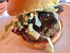 595 Craft and Kitchen Pork Belly Burger Las Vegas Restaurants, Pork Belly, Hamburger, Ethnic Recipes, Kitchen, Crafts, Food, Cooking, Manualidades