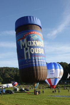 Love Balloon, Balloon Rides, Hot Air Balloon, Albuquerque Balloon Festival, Sky Ride, Maxwell House Coffee, Balloon Pictures, Air One, Coffee Jars