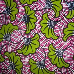 Véritable coupon tissu,  wax(pagne africain) 45 cm x 55 cm