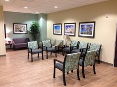 To create facilities that nurture and comfort patients, trends show artwork displaying soothing nature scenes is best.  Art + Artisans and Solis Mammography collaborated on several clinics to highlight floral and water related imagery.
