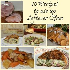 10 Recipes to use up leftover ham...that meatlovers hashbrown casserole!