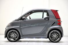 #smart #BRABUS ULTIMATE 120 Smart Brabus, Smart Fortwo, Car Gadgets, Smart Car, Fiat 500, Dream Garage, Cars And Motorcycles, Hot Rods, Cool Cars