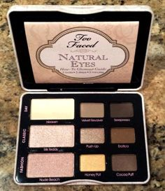 Too Faced Natural Eyes Shadow Palette 9 Colors