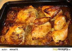 Kuře a lá kachna na zelí