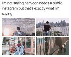 BTS RM   cough cough. Hahaha nah twitter's enuff tbh