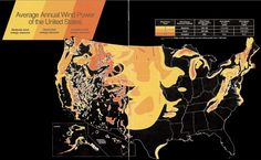 Wind resources in the US