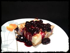 White Chocolate Blueberry Cheesecake -  couldn't start any better :)