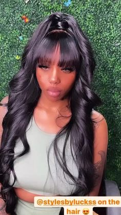 Hair Ponytail Styles, Weave Ponytail Hairstyles, Frontal Hairstyles, Curly Hair Styles, Natural Hair Styles, Protective Hairstyles, Black Girls Hairstyles, Summer Hairstyles, Cute Hairstyles