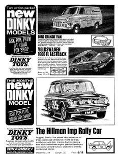 Dinky Ad 1966 Transit Hillman Imp Fastback | Flickr - Photo Sharing!