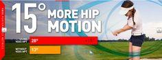 Improved hip motion while golfing Socks, Science, Feelings, Life, Sock, Stockings, Ankle Socks, Hosiery