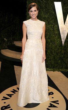 Oscar's Ten Best Dressed (from Vogue.com) - Allison Williams wearing Valentino
