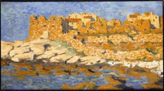 The fortifications of Ajaccio - 1907  From Impressionism to Cubism - National Museum of the Maritime Alps