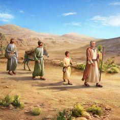 Génesis 17:15-17 Y Dios dijo a Abraham: En cuanto a Sarai, tu esposa, no la llamarás Sarai, sino que Sara será su nombre. Y Yo la bendeciré, y te daré un hijo también de ella. Sí, la bendeciré y ella será la madre de naciones; reyes de naciones saldrán de ella. Entonces Abraham cayó con su rostro sobre la tierra, y se río diciendo en su corazón: ¿Nacerá un hijo de quien tiene cien años? ¿Y engendrará Sara quien tiene noventa años?#LeChrist #SeigneurJésus #laGrâcedeDieu #lesalut #monSauveur  Abraham Y Sara, Story Of Abraham, Jesus Cartoon, Cross Wallpaper, Sad Alone, Werewolf Art, Bible Illustrations, Bible Pictures, Arabic Art