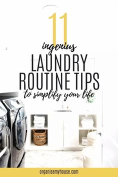 Use these amazing laundry routine tips to help you simplify and streamline your laundry each week. Laundry hacks that you'll want to try today! Linen Cupboard, Laundry Hacks, Household Chores, Homemaking, Home Organization, Declutter, Frugal, Laundry Room, Make It Simple