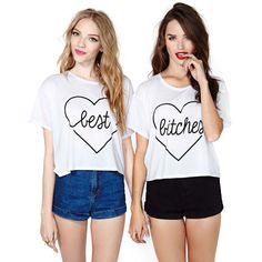 P.S. I Love You More Boutique | Best Bitches Shirt Set | www.psiloveyoumoreboutique.com