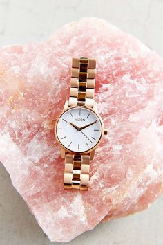 Nixon Small Kensington Rose Gold Watch - Urban Outfitters
